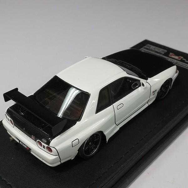イグニッションモデル 1/43 スカイライン GT-R ニスモ R32 ホワイト_3