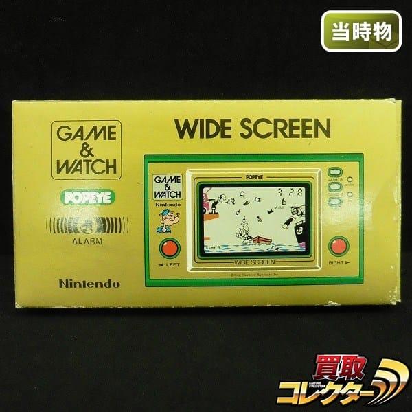 任天堂 当時物 ゲームウォッチ ポパイ / Nintendo GAME & WATCH