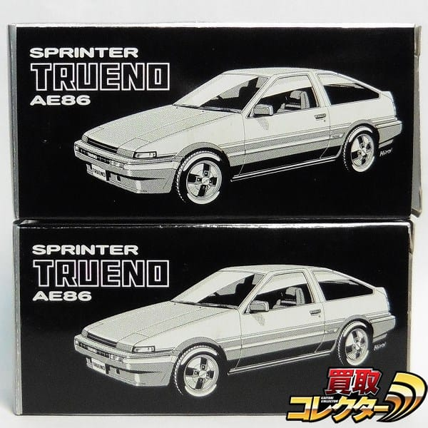 TAM特注 トミカ スプリンター トレノ AE86 白 シルバー