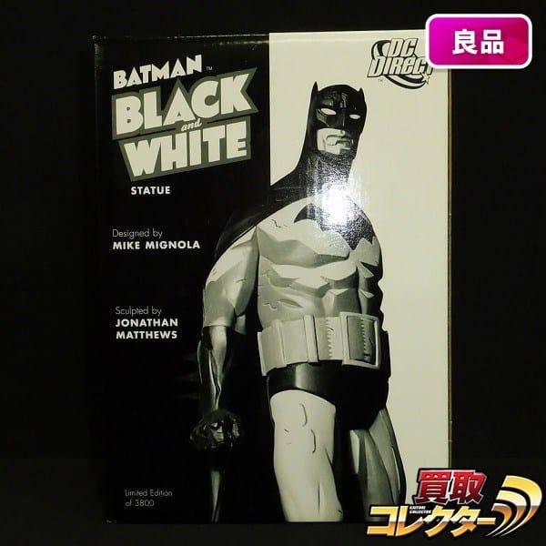 DCダイレクト バットマン ブラック&ホワイト スタチュー